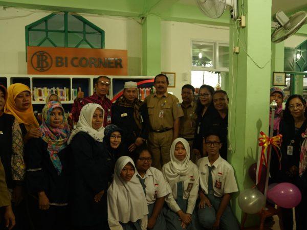 Peresmian BI Corner Perpustakaan SMAN 67