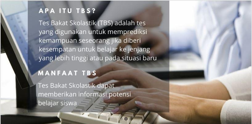 Tes Bakat Skolastik (TBS) kelas 12