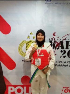 Medali Emas Taekwondo Kaporli CUP