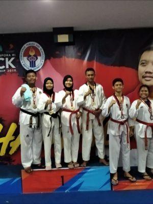 Medali Perunggu Taekwondo The Kick Indonesia Championship 2019