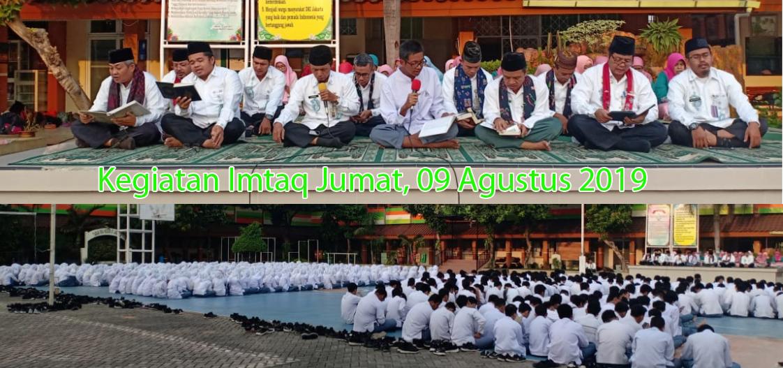 Imtaq 09 Agustus 2019